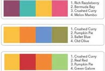 Stampin' Up! -  Colour combinations