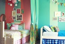 Tots shared room decor / by Robin Walker