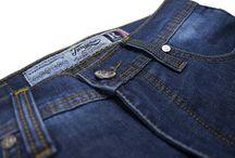 R Series 001 Blue / Regular Fit 5 pocket classic series. 14oz sanforized denim with Zip fly. 90% cotton 8% polyester 2% elastane