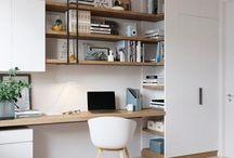Desk/work space