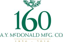 McDonald Throwback / With over 160 years of experience on our side, there's a lot of history surrounding A.Y. McDonald. Follow along with this board to learn even more about the company (and the people) behind the product.