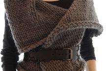 colete trico cinza