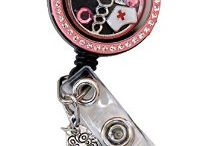 Nurse Badge Reel / These are some of my favorite badge reels for nurses and nursing students.