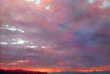pastel landscapes
