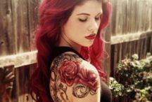 Rose Shoulder Tattoos