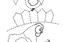 grafomotorika pracovne listy