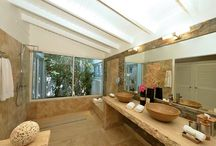 Beautiful Bathrooms / A series of amazing bathrooms our villas have!