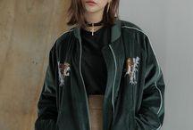 Korean fashion / moda koreańska