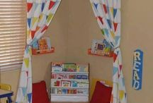 Montessori reading corner