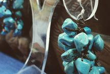 All Things Turquoise / An assortment of natural turquoise and turquoise colored jewelry collections at Vivah!