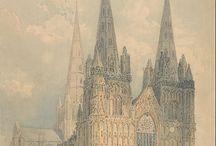 Thomas Girtin / Thomas Girtin (1775–1802 w Londynie) – wybitny angielski akwarelista, rysownik i grafik. Admirator pejzażu, przyjaciel J.W.M. Turnera.