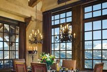 Dining spots in the home / wonderful places to eat