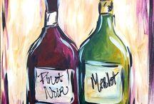 Wine and art / Искусство в вине!