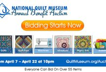 2015 Online Auction / The 2015 Online Auction is LIVE.  See all 55 items at www.quiltmuseum.org/auction.