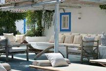 Casas de praia na Comporta , Formentera,Grécia , Palma etc
