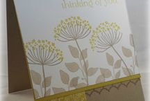 Summer silhouettes  cards