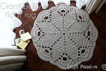 Crochet doilies / Virkkaa liinoja / by Sirpa Nerola