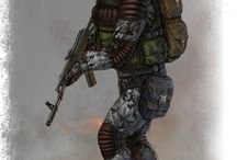 sci-fi and military