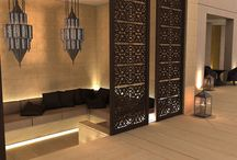 Arabic interior design style