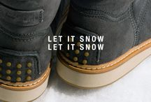 Let It Snow Let It Snow / A warm little boot to deal with the coldest weather in the most comfortable way.