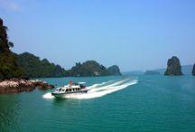 Co To Insel- Quang Ninh Provinz- Vietnam / Co To Insel / Strand in der Provinz Quang Ninh ist die schönste und romantischste Strand von Vietnam mit transparenten blauen Meer, weißer Sand, goldenen Sonnenschein und grüne Berge und Wald.