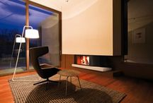 Modern Fireplaces / #interor #Design # Inspiration for #Fireplaces in Homes