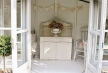 Shed interiors