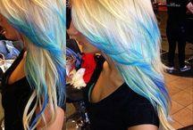 Hair..Farebné a účesy :) / Crazy, hair, farebné vlassy