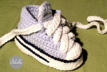 Shoes / Buciki dla najmłodszych, Handmade shoes from wool for newborn baby