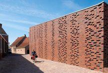 baksteen architectuur nederland