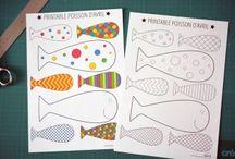 """Рыбки / Всё для игр на тему """"Рыбы"""""""