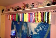 Swimming ribbons