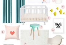 Nursery/ kids room ideas / Interior design / by DeenOverDunya