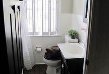 Beautiful bathroom shutter ideas