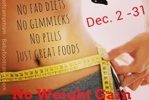 "No Weight Gain Holiday Challenge / Studies say most people will gain some weight this holiday season.  Tired of the weight gain? Join us for our ""No Holiday Weight Gain Challenge. Download guide here: http://on.fb.me/1zNh38r / by Linda Okwor"