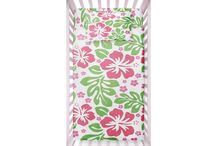 Hawaiian Toddler and Baby Bedding