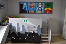 J's room ideas / Ideas I'm collecting for a dream redo of my Son's room.  :)