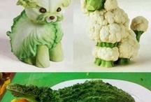 Gemüse /Obst Kunst