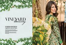 Embroidered Chiffon Collection- Spring Lawn Volume 2