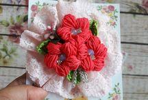 crochet flower by me