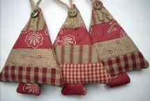 DIY Christmas Crafts - Fabric