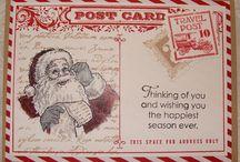 SU Christmas cards / by ♥Karen Capasso-Fortney♥