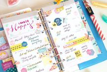 Planners - Pretty Planning Inspiration / Gorgeous planners and spreads.