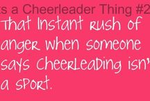 Cheer and dance  / by Cassie Gehlhausen