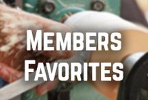 Members Favorites / Members Favorites is a board where WWGOA members and Woodworkers can come together to share some of their favorite woodworking ideas, projects and techniques. Let's get pinning! / by WoodWorkers Guild of America