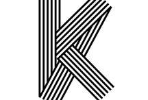 K typography
