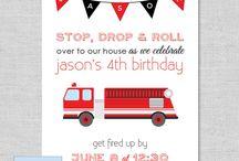 birthday firemen