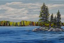 Canadian Artists / A collection of works from the Canadian artists represented by Agora Gallery!