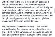 Equality/Feminism/Revolution