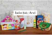 Avril 2016 -Box créative KIDS 3-9 ans